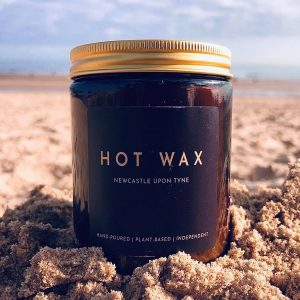 soy wax candle Newcastle