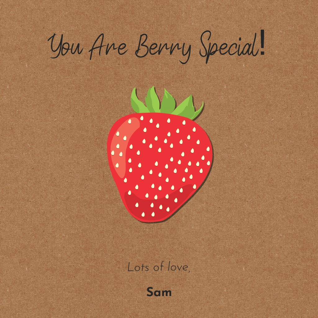 Strawberry Gift Card